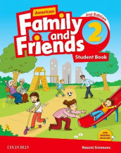 American Family and Friends: Level Two: Student Book av Jenny Quintana, Naomi Simmons og Tamzin Thompson (Heftet)