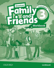 American Family and friends: Level Three: Workbook av Jenny Quintana, Naomi Simmons og Tamzin Thompson (Heftet)