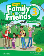 American Family and Friends: Level Three: Student Book av Jenny Quintana, Naomi Simmons og Tamzin Thompson (Heftet)