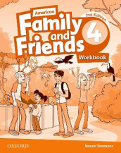 American Family and Friends: Level Four: Workbook av Jenny Quintana, Naomi Simmons og Tamzin Thompson (Heftet)