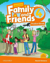 American Family and Friends: Level Four: Student Book av Jenny Quintana, Naomi Simmons og Tamzin Thompson (Heftet)