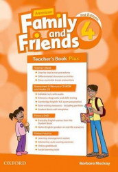 American Family and Friends: Level Four: Teacher's Book Plus av Jenny Quintana, Naomi Simmons og Tamzin Thompson (Blandet mediaprodukt)
