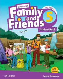 American Family and Friends: Student Book Level Five av Naomi Simmons, Tamzin Thompson og Jenny Quintana (Heftet)