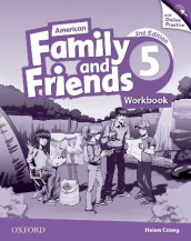 American Family and Friends: Level Five: Workbook with Online Practice av Jenny Quintana, Naomi Simmons og Tamzin Thompson (Blandet mediaprodukt)
