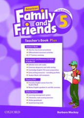 American Family and Friends: Level Five: Teacher's Book Plus av Jenny Quintana, Naomi Simmons og Tamzin Thompson (Blandet mediaprodukt)