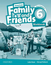 American Family and Friends: Level Six: Workbook av Jenny Quintana, Naomi Simmons og Tamzin Thompson (Heftet)