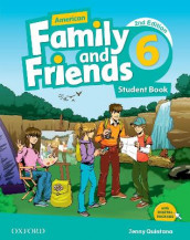 American Family and Friends: Level Six: Student Book av Jenny Quintana, Naomi Simmons og Tamzin Thompson (Heftet)