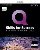 Omslag - Q: Skills for Success: Intro Level: Reading and Writing Student Book with iQ Online Practice