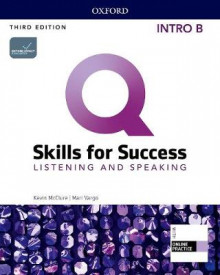 Q: Skills for Success: Intro Level: Listening and Speaking Split Student Book B with iQ Online Practice av Kevin McClure, Mari Vargo og Kristin Sherman (Blandet mediaprodukt)
