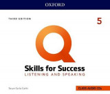 Omslag - Q: Skills for Success: Level 5: Listening and Speaking Audio CDs
