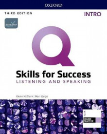 Q: Skills for Success: Intro Level: Listening and Speaking Student Book with iQ Online Practice av Kevin McClure, Mari Vargo og Kristin Sherman (Blandet mediaprodukt)