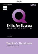 Omslag - Q: Skills for Success: Intro Level: Reading and Writing Teacher's Handbook with Teacher's Access Card