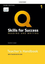 Omslag - Q: Skills for Success: Level 1: Reading and Writing Teacher's Handbook with Teacher's Access Card