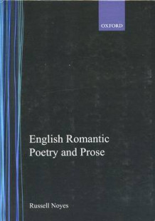 English Romantic Poetry and Prose (Innbundet)