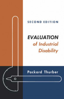 Evaluation of Industrial Disability (Innbundet)