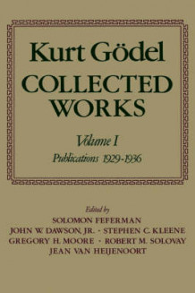 Kurt Godel: Collected Works: V.1 av Kurt Godel (Innbundet)