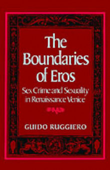 The Boundaries of Eros av Guido Ruggiero (Heftet)