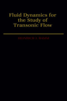Fluid Dynamics for the Study of Transonic Flow av Heinrich J. Ramm (Innbundet)