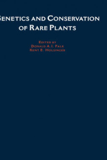 Genetics and Conservation of Rare Plants (Innbundet)