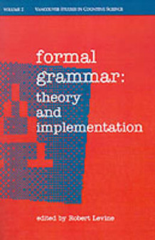 Formal Grammar (Heftet)