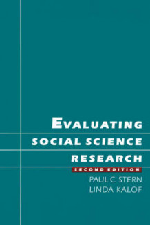 Evaluating Social Science Research av Paul C. Stern og Linda Kalof (Heftet)