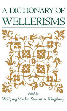 A Dictionary of Wellerisms (Innbundet)