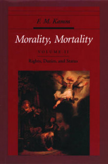 Morality, Mortality: Rights, Duties and Status Volume II av F. M. Kamm (Innbundet)