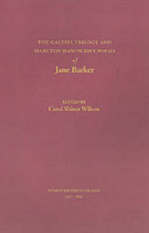The Galesia Trilogy and Selected Manuscript Poems of Jane Barker av Jane Barker (Heftet)