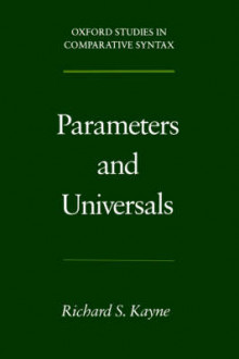 Parameters and Universals av Richard S. Kayne (Heftet)