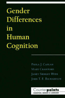 Gender Differences in Human Cognition (Heftet)