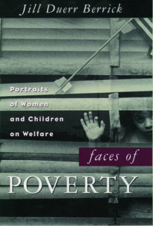 Faces of Poverty av Jill Duerr Berrick (Heftet)