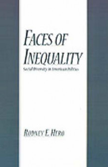 Faces of Inequality av Rodney E. Hero (Innbundet)