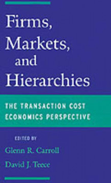 Firms, Markets and Hierarchies (Innbundet)