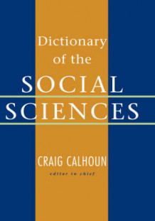 Dictionary of the Social Sciences (Innbundet)