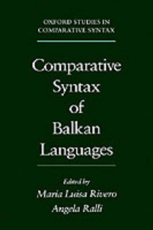 Comparative Syntax of the Balkan Languages (Innbundet)