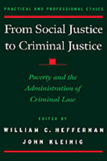From Social Justice to Criminal Justice (Innbundet)
