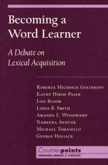 Becoming a Word Learner (Heftet)