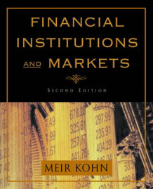 Financial Institutions and Markets av Meir Kohn (Innbundet)