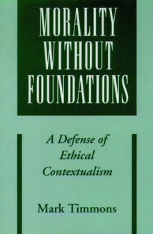 Morality without Foundations av Mark Timmons (Heftet)