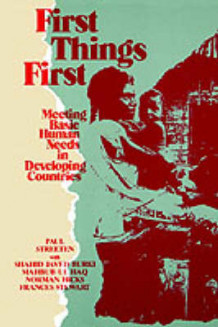 First Things First av Paul Streeten og et al (Heftet)