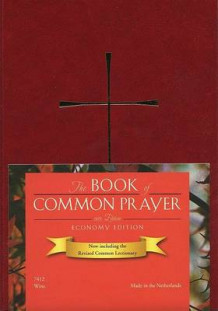 1979 Book of Common Prayer Economy Edition, Imitation Leather Wine Color (Praktinnbinding)