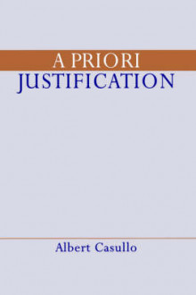 A Priori Justification av Albert Casullo (Heftet)