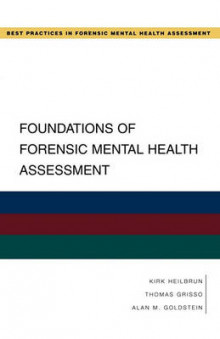 Foundations of Forensic Mental Health Assessment av Kirk Heilbrun, Thomas Grisso og Alan M. Goldstein (Heftet)