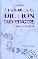 Omslag - A Handbook of Diction for Singers