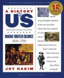 A History of US: Making Thirteen Colonies: A History of US Book Two av Joy Hakim (Heftet)