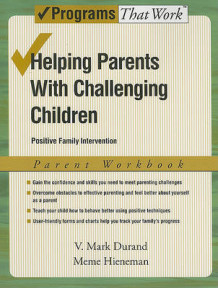 Helping Parents with Challenging Children: Parent Workbook av V. Mark Durand og Meme Hieneman (Heftet)