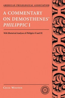 "A Commentary on Demosthenes' ""Philippic"" I av Cecil W. Wooten (Heftet)"