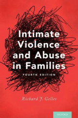 Omslag - Intimate Violence and Abuse in Families