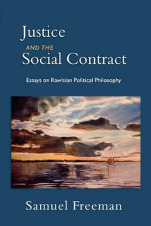 Justice and the Social Contract av Samuel Freeman (Heftet)