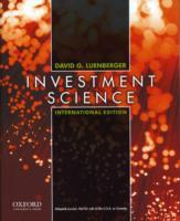 Investment Science av David G. Luenberger (Heftet)
